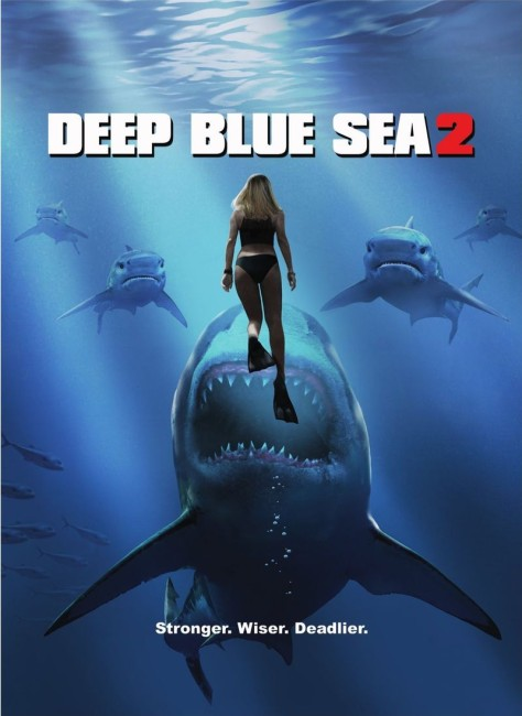 Deep Blue Sea 2 (2018) poster
