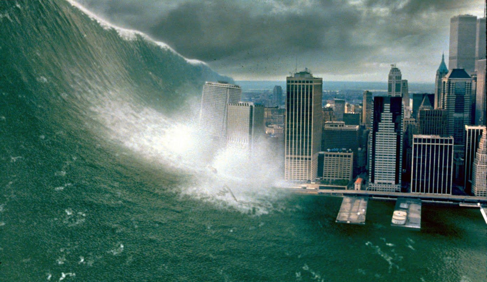 Tsunami in Deep Impact (1998)