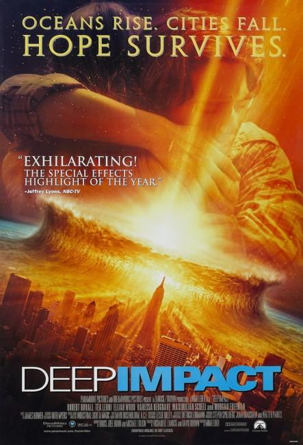 Deep Impact (1998) poster