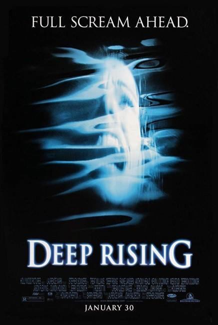 Deep Rising (1998) poster