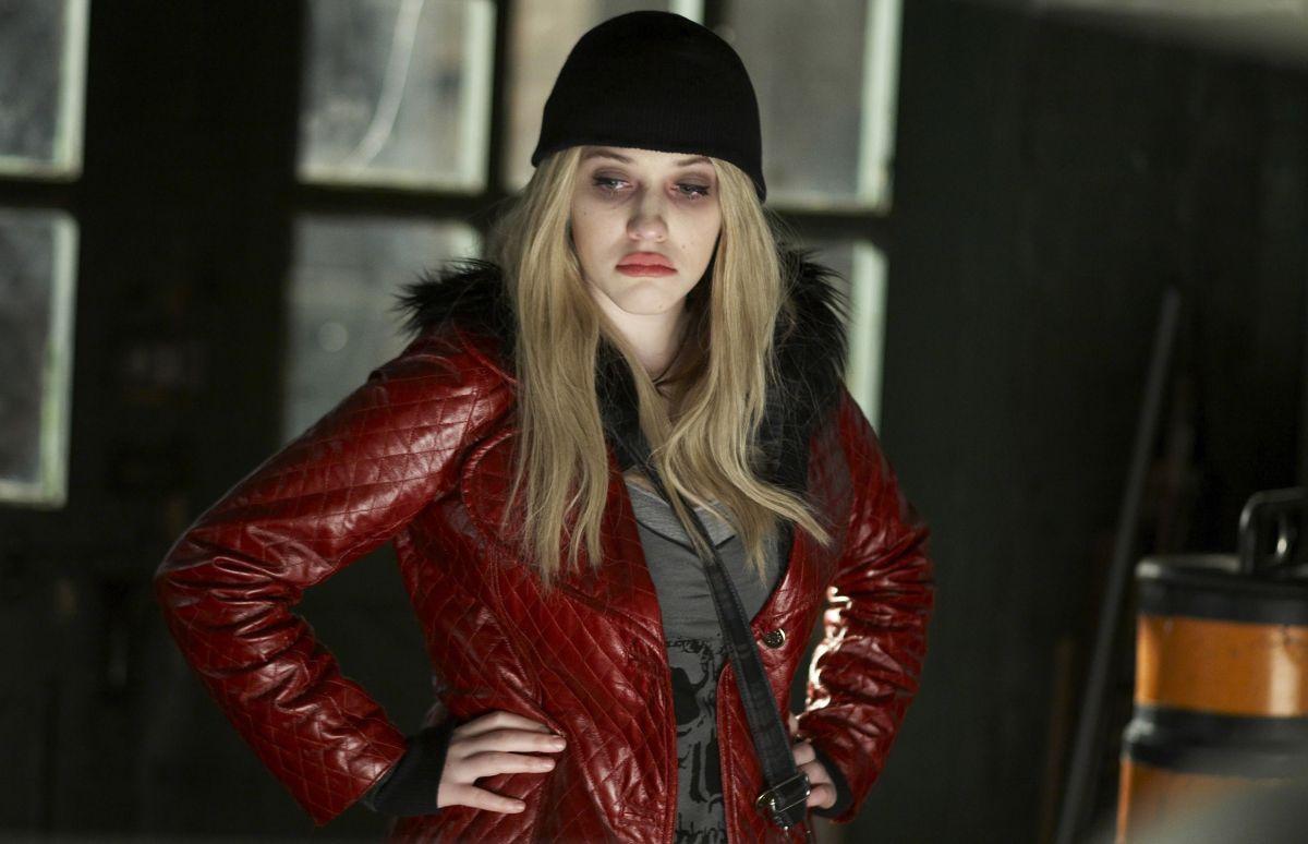 Kat Dennings as the prostitute Angel in Defendor (2009)