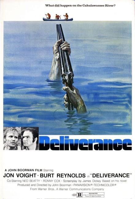 Deliverance (1972) poster