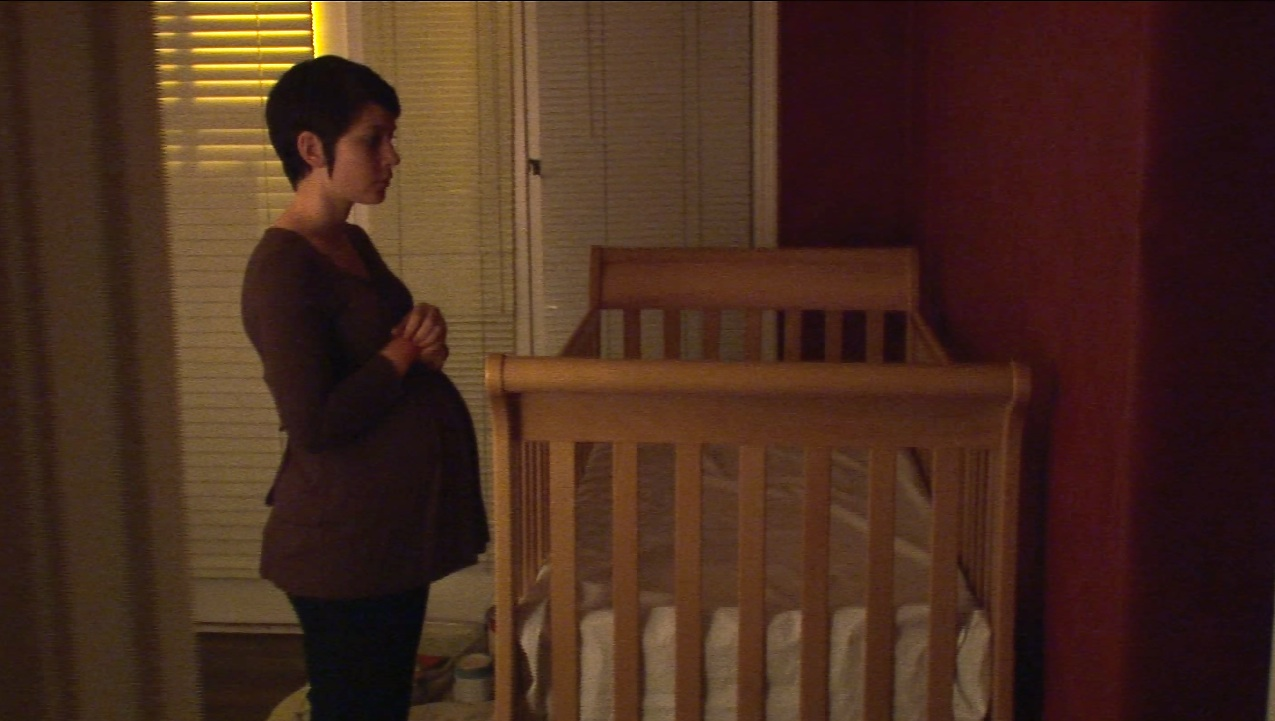 A pregnant Laurel Vail in Delivery (2013)