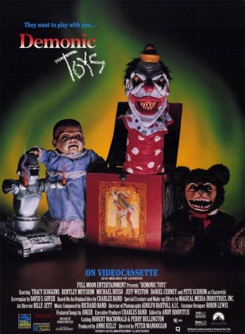 Demonic Toys (1992) poster