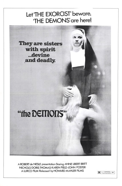 The Demons (1972) poster