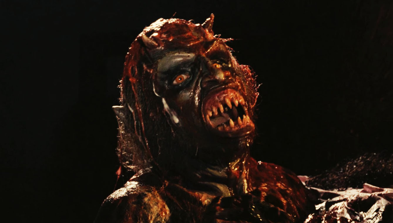 One of the possessed dead from Demons (1985)
