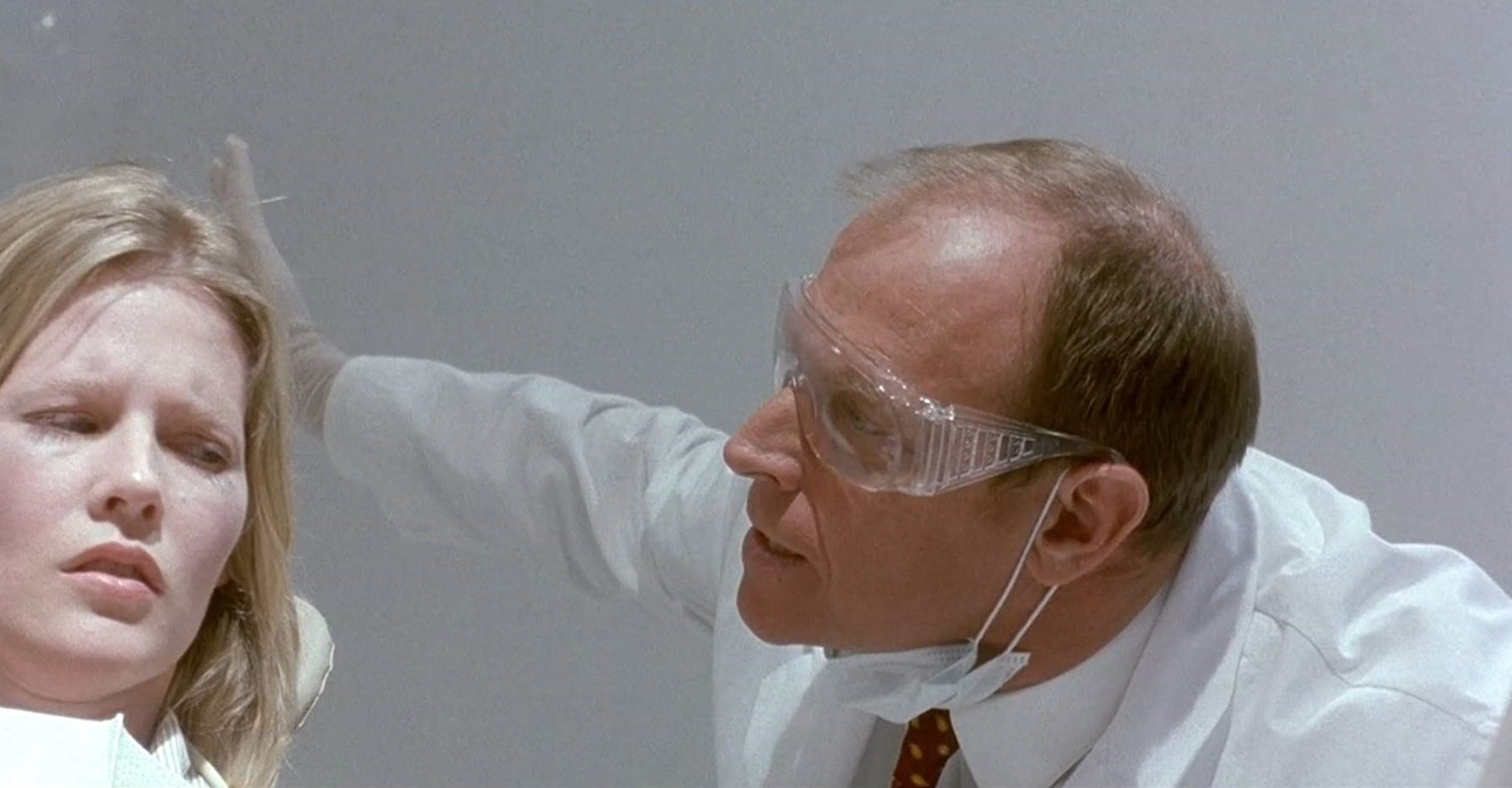 Corbin Benrsen and Jillian McWhirter in The Dentist 2 (1998)
