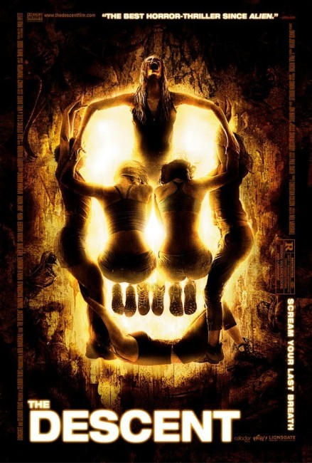 The Descent (2005) poster