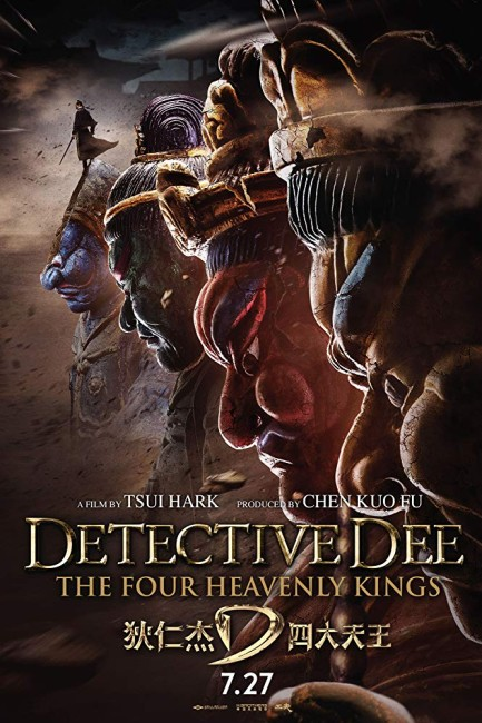 Detective Dee: The Four Heavenly Kings (2018) poster