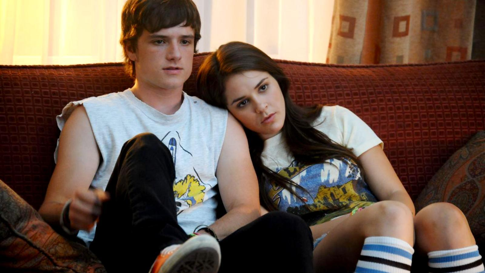 Clapton Davis (Josh Hutherson) and Riley Jones (Shanley Caswell) in Detention (2011)