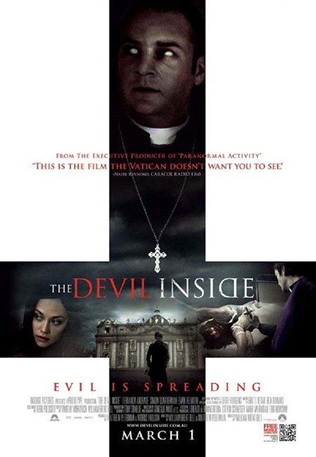 The Devil Inside (2012) poster