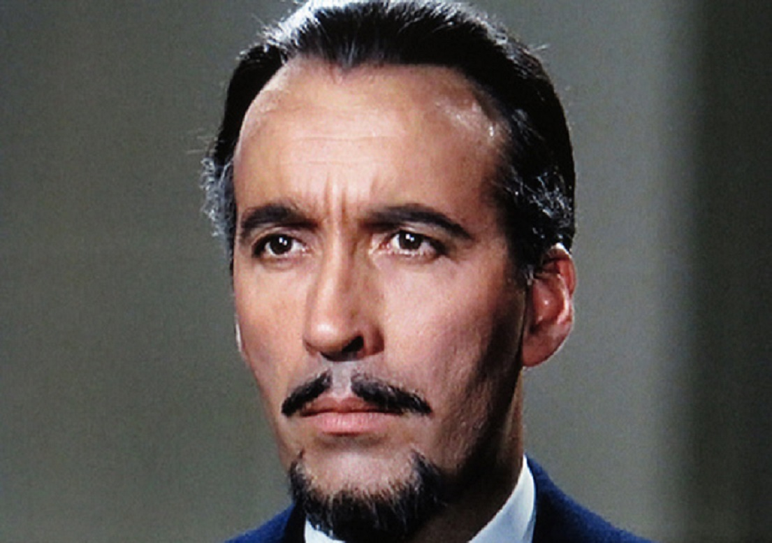 Christopher Lee as the Duc de Richlieu in The Devil Rides Out (1968)