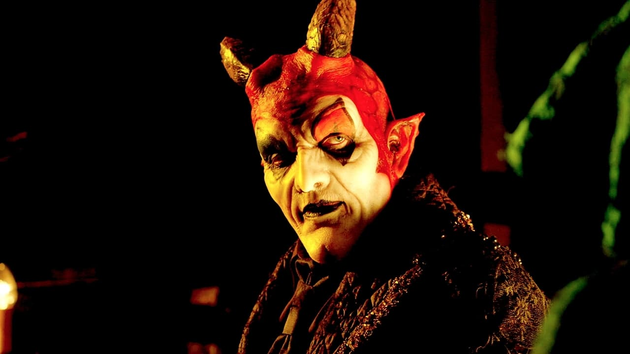 Terrance Zdunich (who writes the screenplay and songs for the film) as The Devil presiding over Hell in The Devil's Carnival (2012)