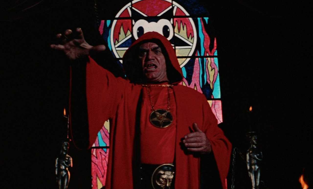 Ernest Borgnine as Satanist cult leader Jonathan Corbis in The Devil's Rain (1975)