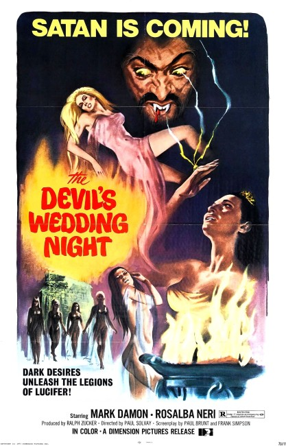 The Devil's Wedding Night (1973) poster