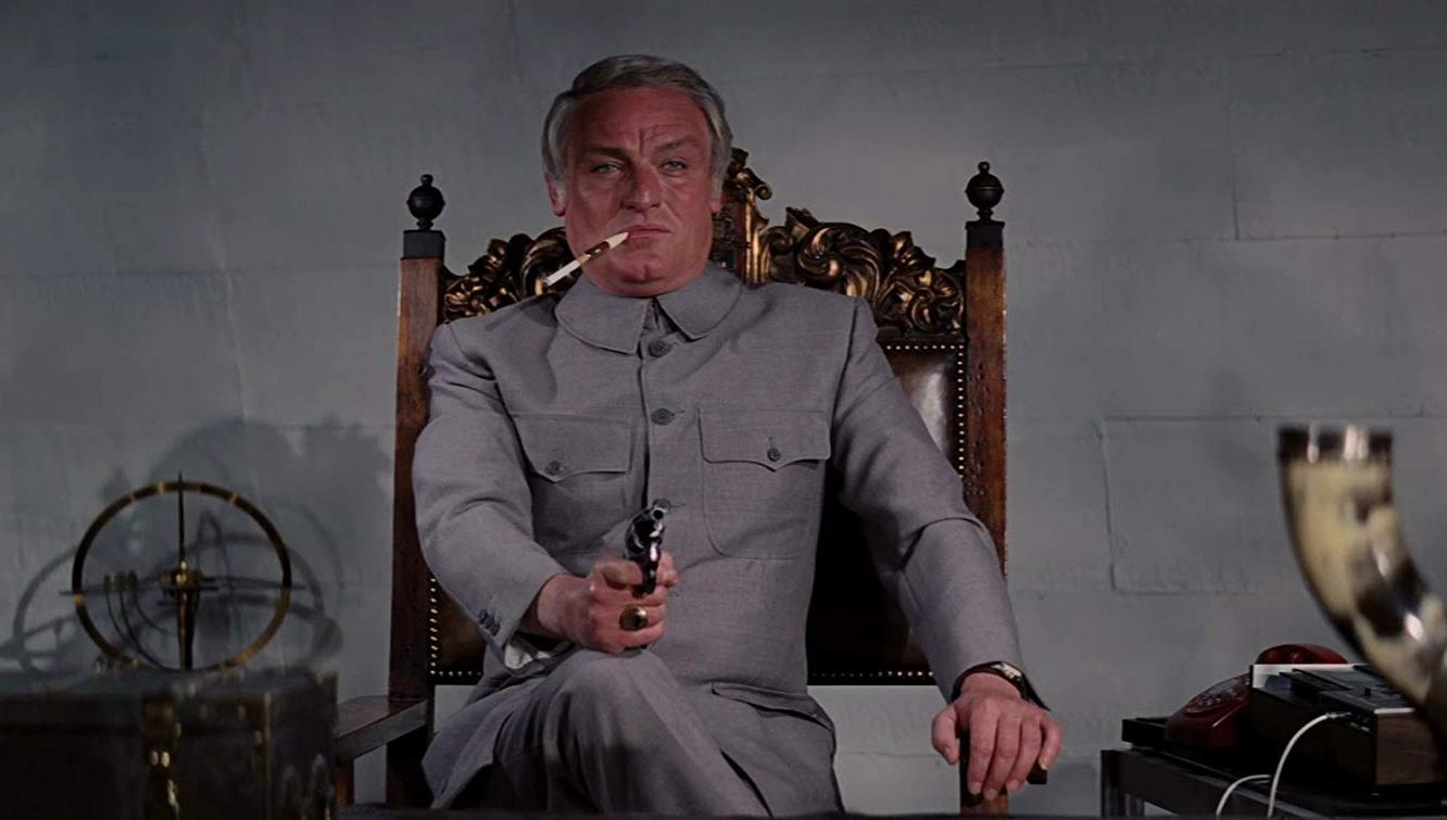 Charles Gray as Blofeld in Diamonds Are Forever (1971)