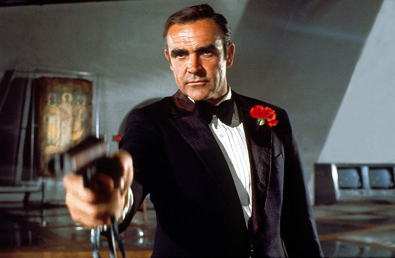 Sean Connery back again as James Bond in Diamonds Are Forever (1971)