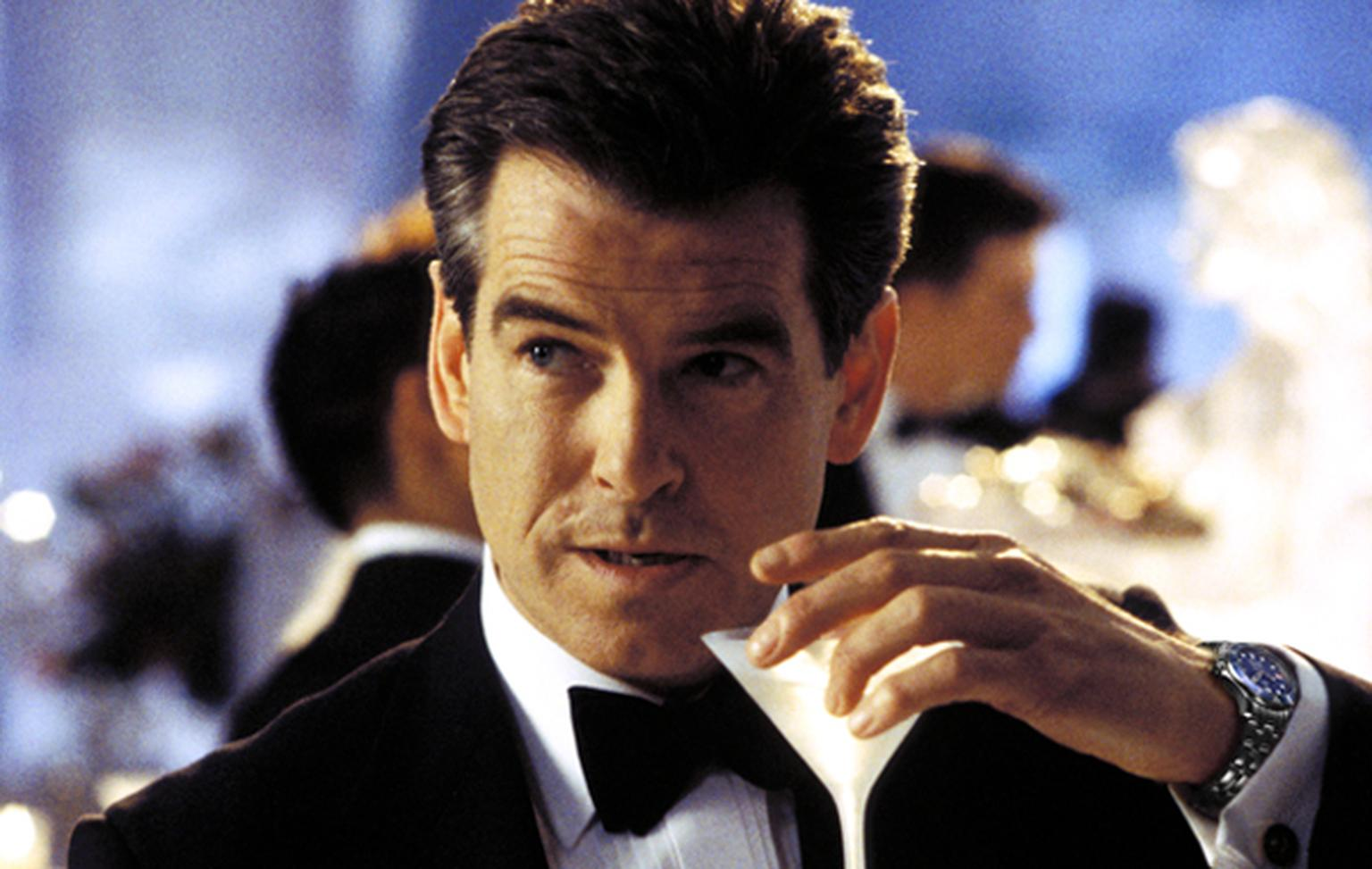 Pierce Brosnan in his final outing as James Bond in Die Another Day (2002)