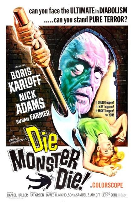 Die, Monster, Die! (1965) poster