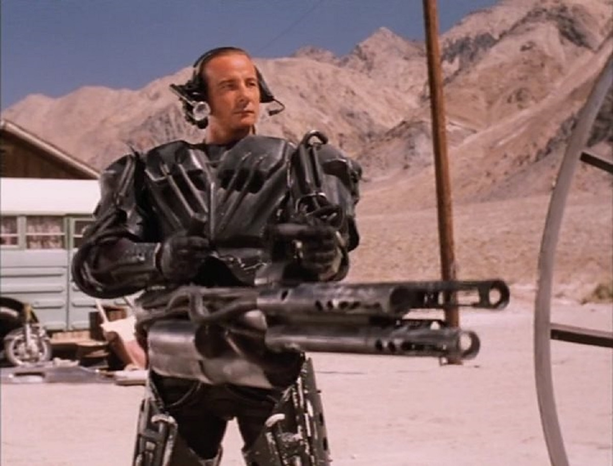 Matthias Hues as the amok android  known as Digital Man (1995)