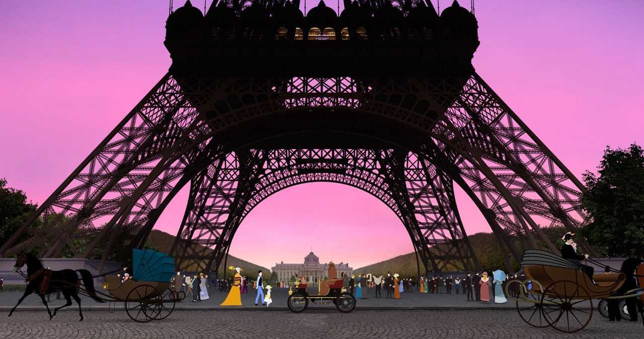 The Eiffel Tower in Dilili in Paris (2018)