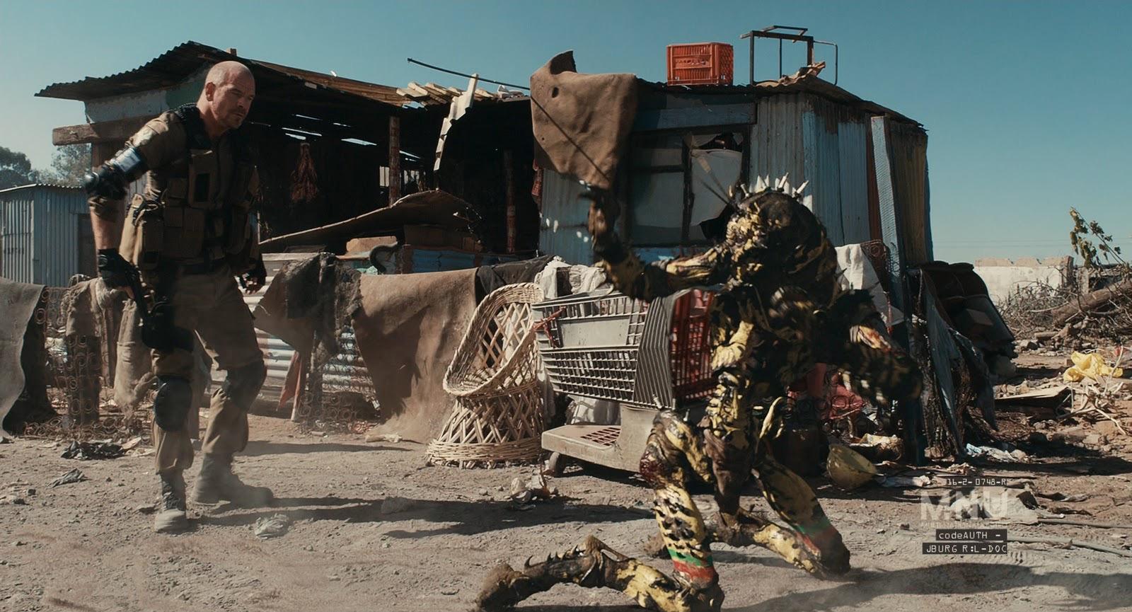 MNU harass the Prawns in District 9 (2009)