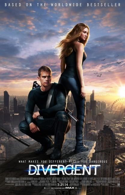 Divergent (2014) poster