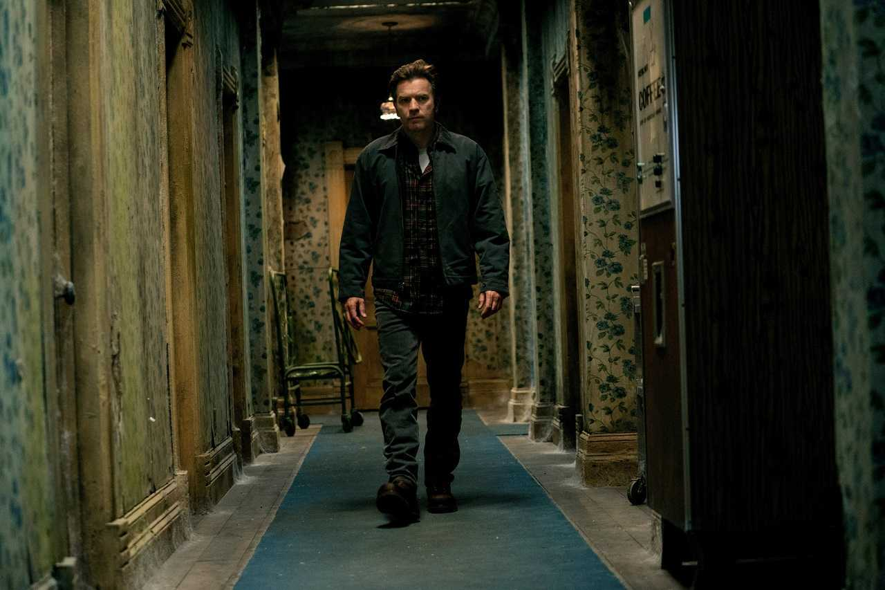 The grown-up Danny Torrance (Ewan McGregor) makes a return to The Overlook Hotel in Doctor Sleep (2019)
