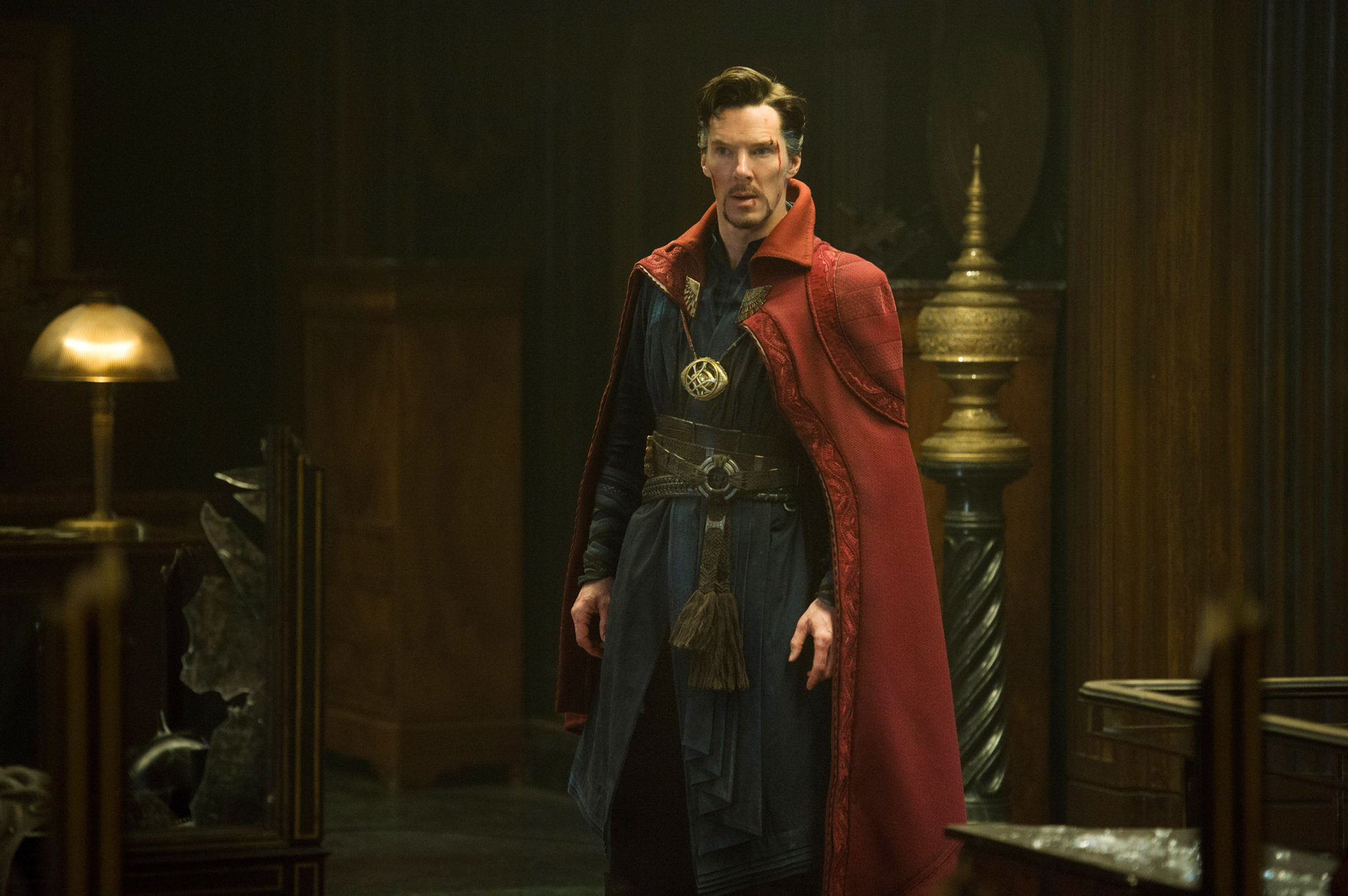 Benedict Cumberbatch as Dr Steven Strange in Doctor Strange (2016)