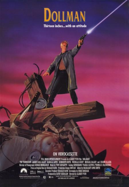 Dollman (1990) poster