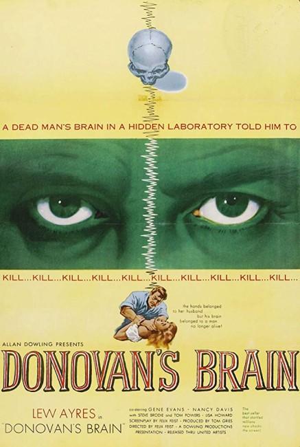 Donovans Brain (1953) poster