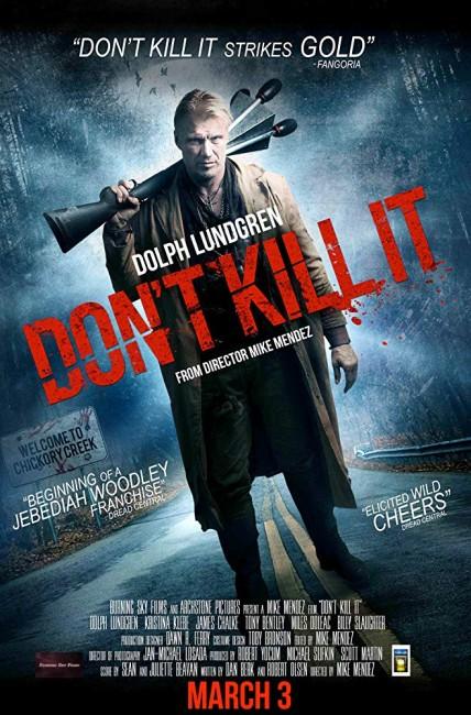 Don't Kill It (2016) poster