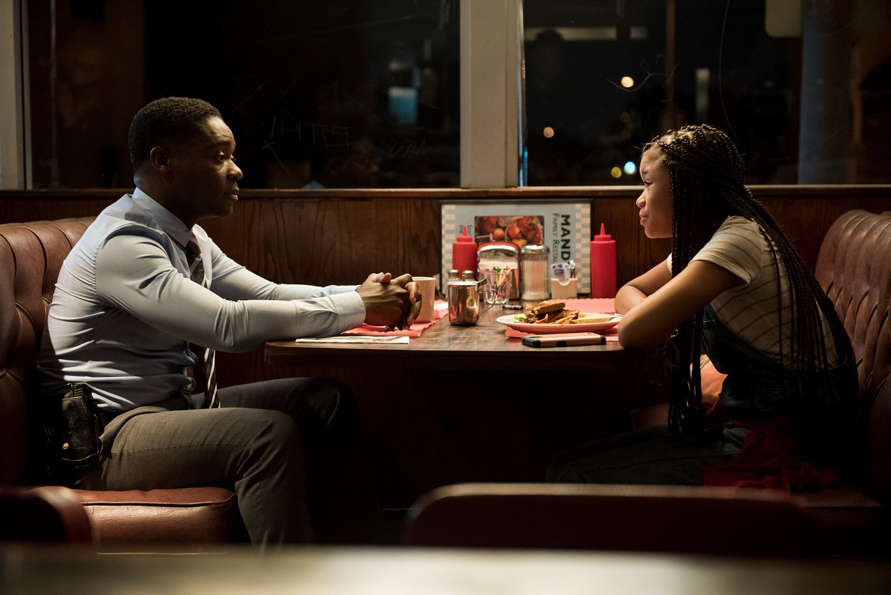 Detective Jack Radcliff (David Oyelowo) and niece Ashley (Storm Reid) in Don't Let Go (2019)