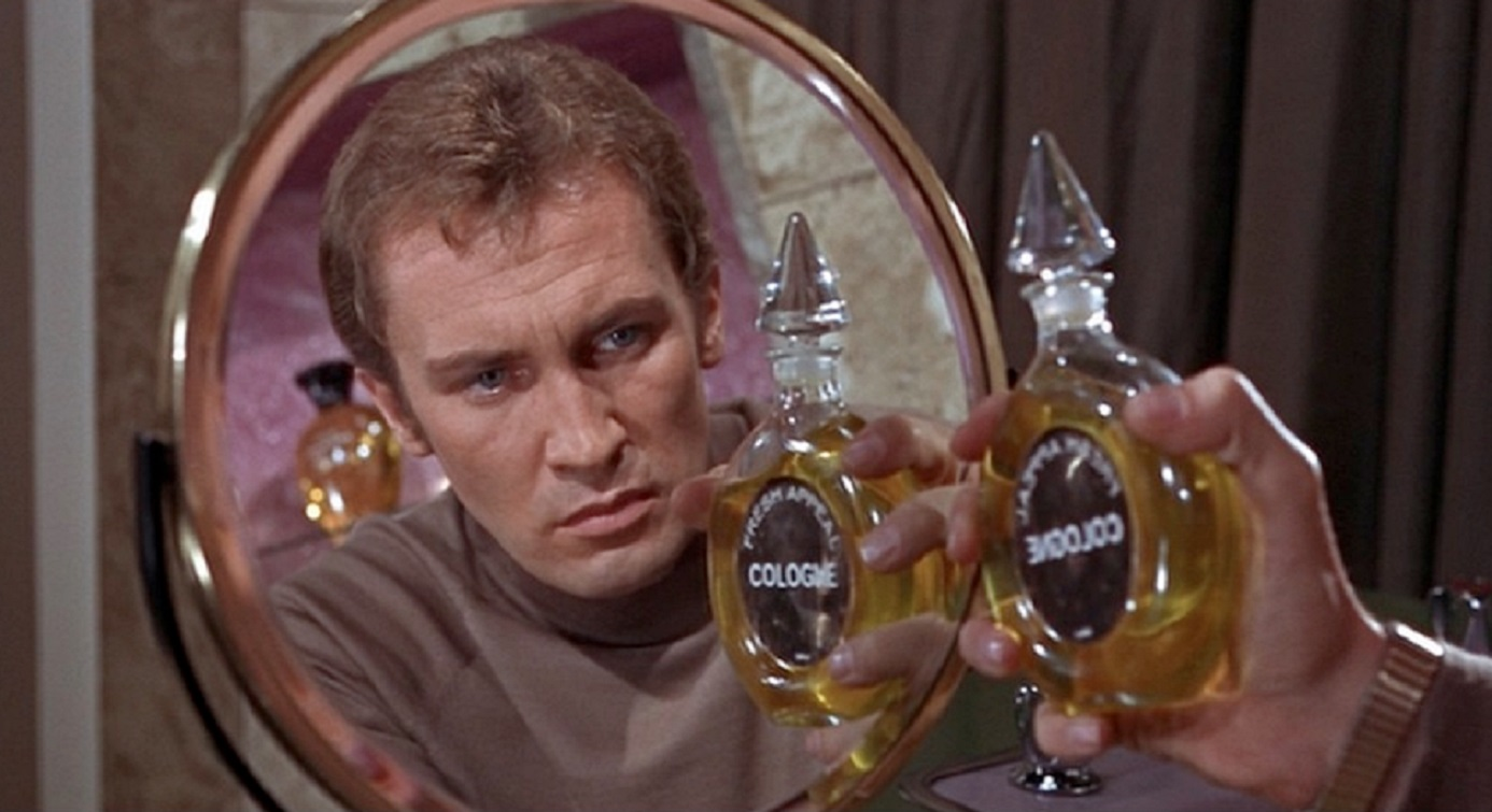Astronaut Roy Thinnes discovers he is on a mirror reversed duplicate of Earth in Doppelganger (1969)