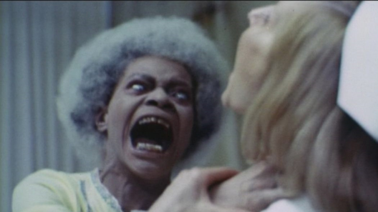 Bernie Casey turns into a white-skinned monster in Dr Black and Mr Hyde (1976)