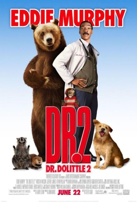 Dr. Dolittle 2 (2001) poster