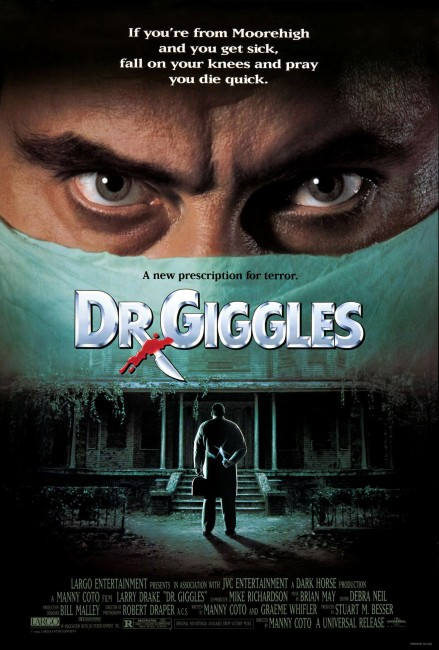 Dr Giggles (1992) poster
