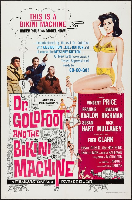 Dr Goldfoot and the Bikini Machine (1965) poster