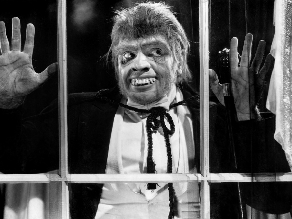 Mr Hyde (Fredric March) in Dr. Jekyll and Mr. Hyde (1931)