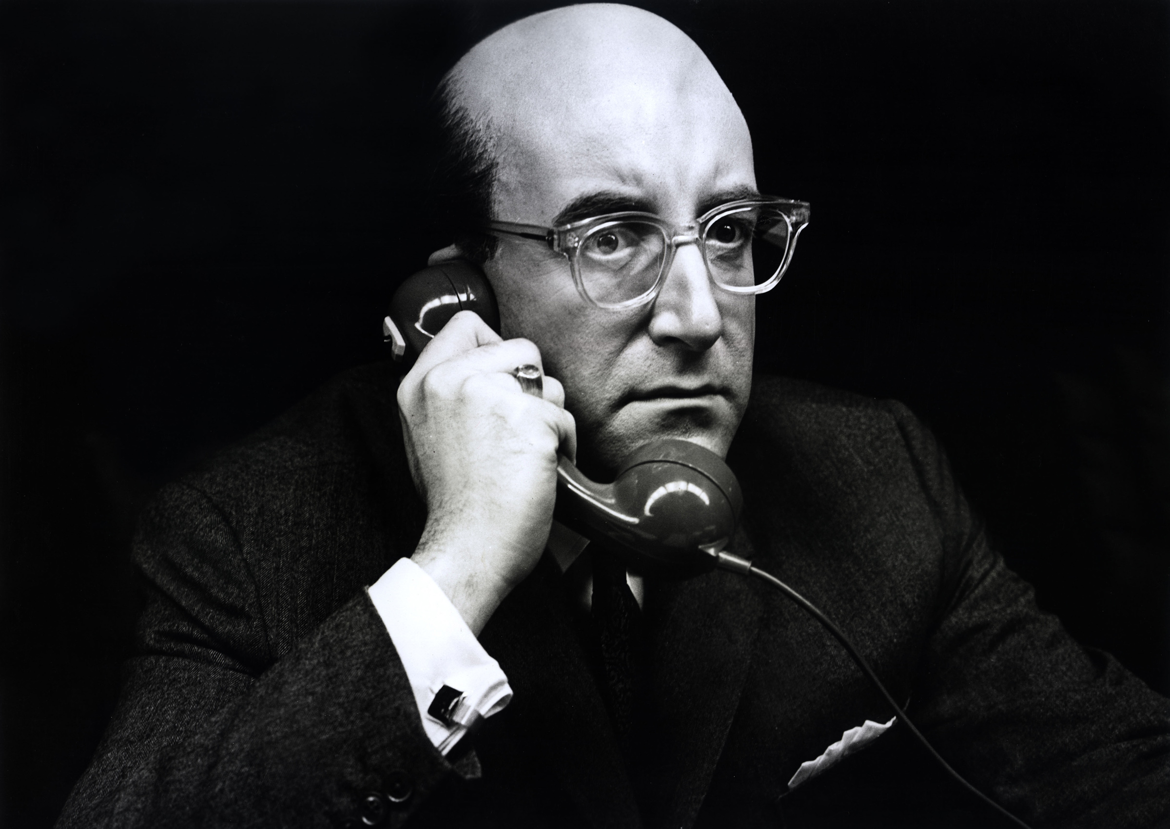 Peter Sellers as President Merkin Muffley in Dr Strangelove or How I Learned to Stop Worrying and Love the Bomb (1964)