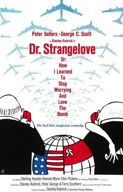 Dr Strangelove or How I Learned to Stop Worrying and Love the Bomb (1964) poster