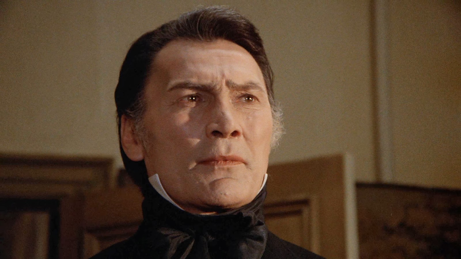 Jack Palance as Count Dracula in Dracula (1974)