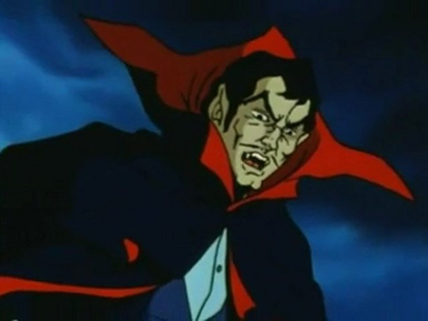 The anime version of Cunt Dracula in Dracula (1980)