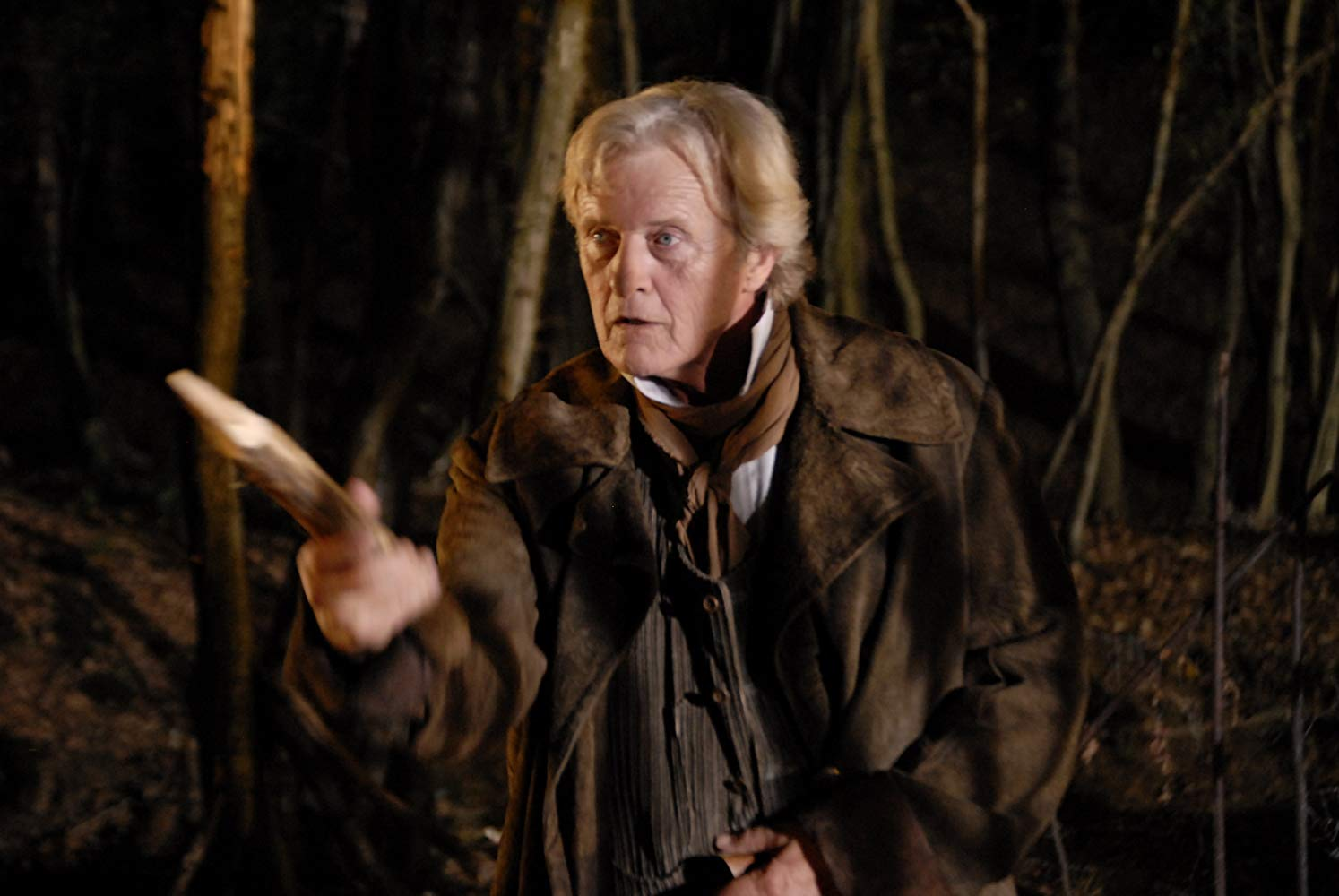 Rutger Hauer as Van Helsing in Dracula (2012)