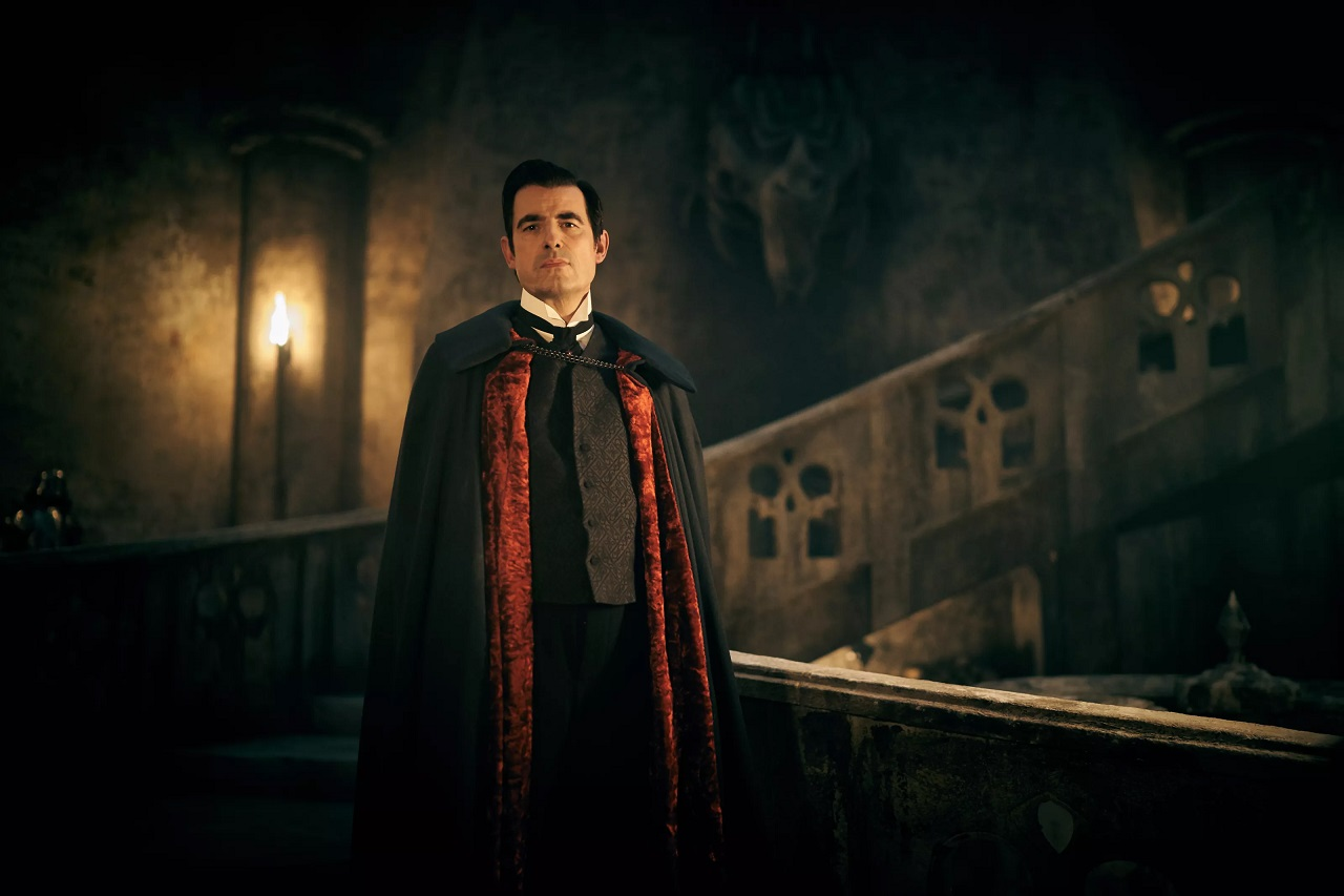Claes Bang as Count Dracula in Dracula (2020)