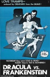 Dracula vs. Frankenstein (1971) poster