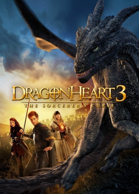 Dragonheart 3: The Sorcerers Curse (2015) poster
