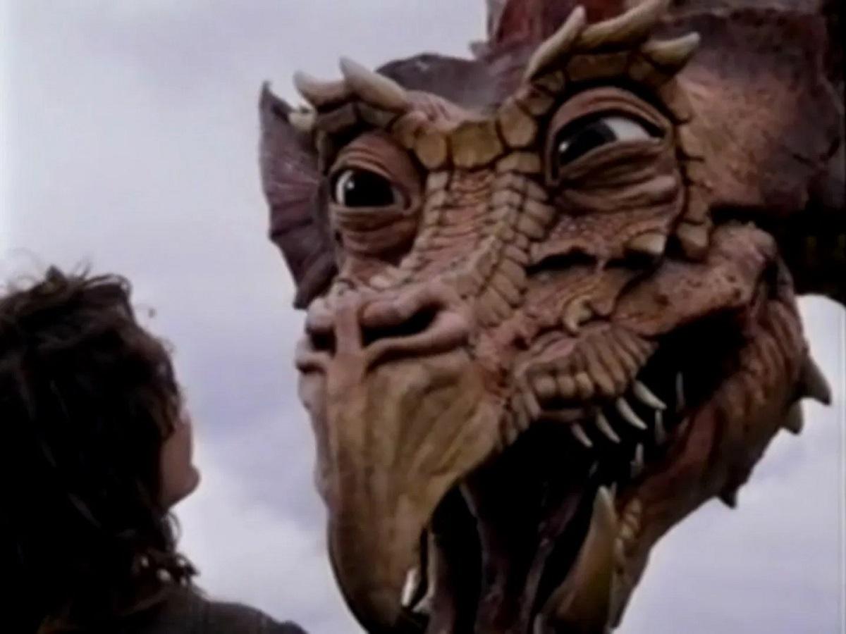 Yeller the dragon in Dragonworld (1994)