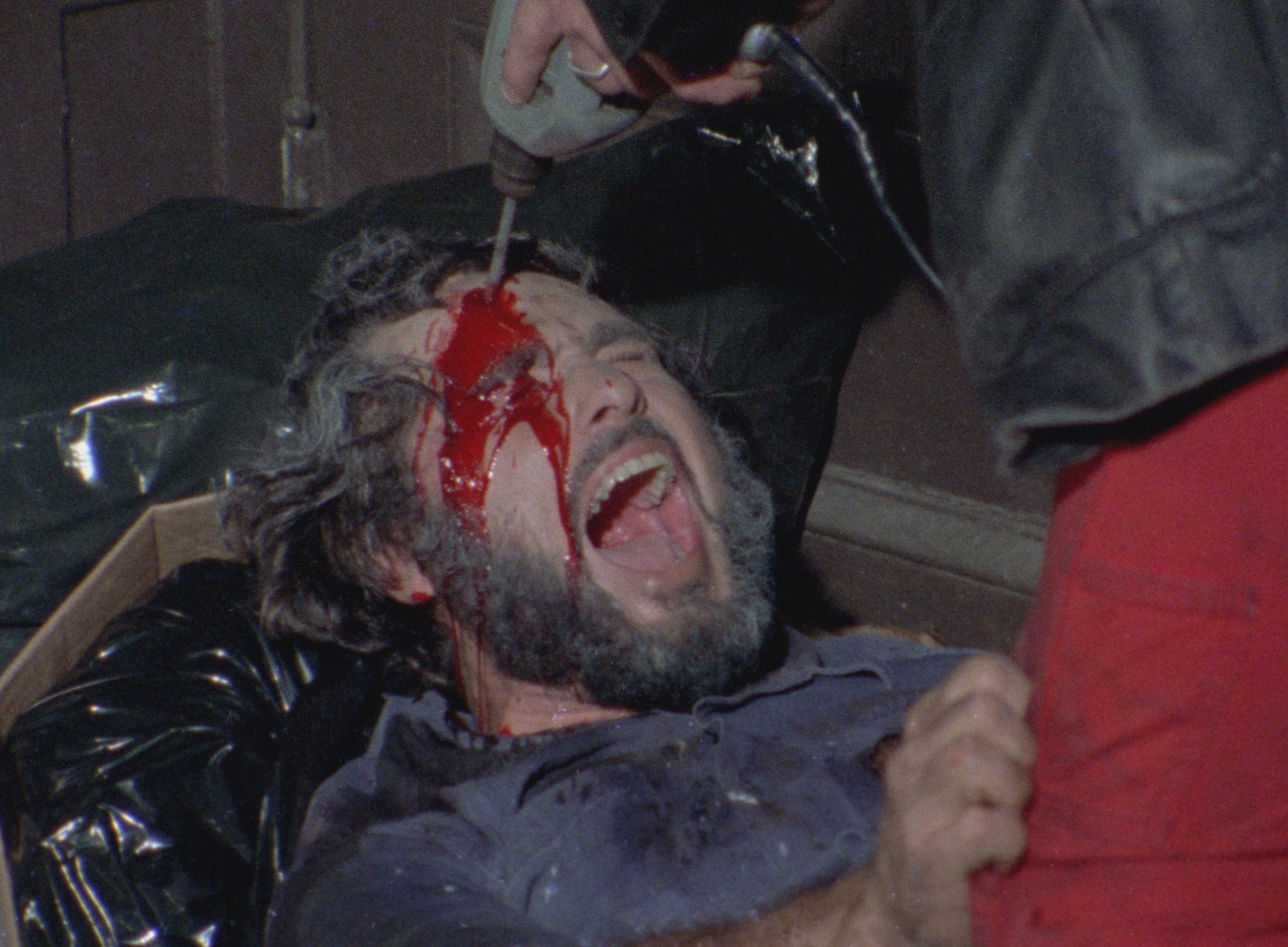 Power drill in the head from The Driller Killer (1979)