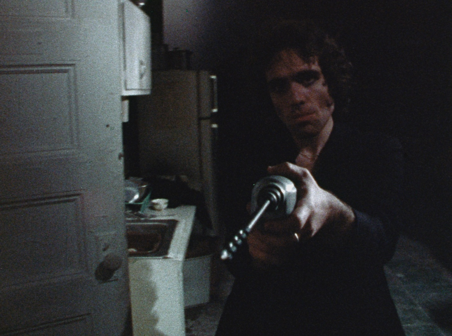 Jimmy Laine (Abel Ferrara) as The Driller Killer (1979)